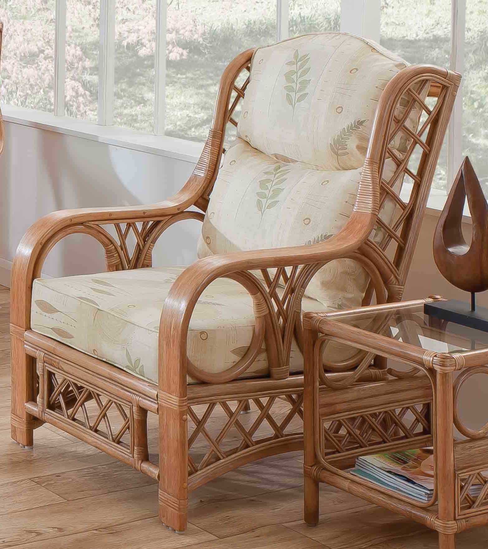 Tivoli Cane Armchair Natural