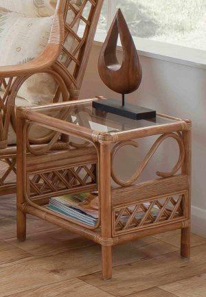 Tivoli Natural Wash Side Table 2
