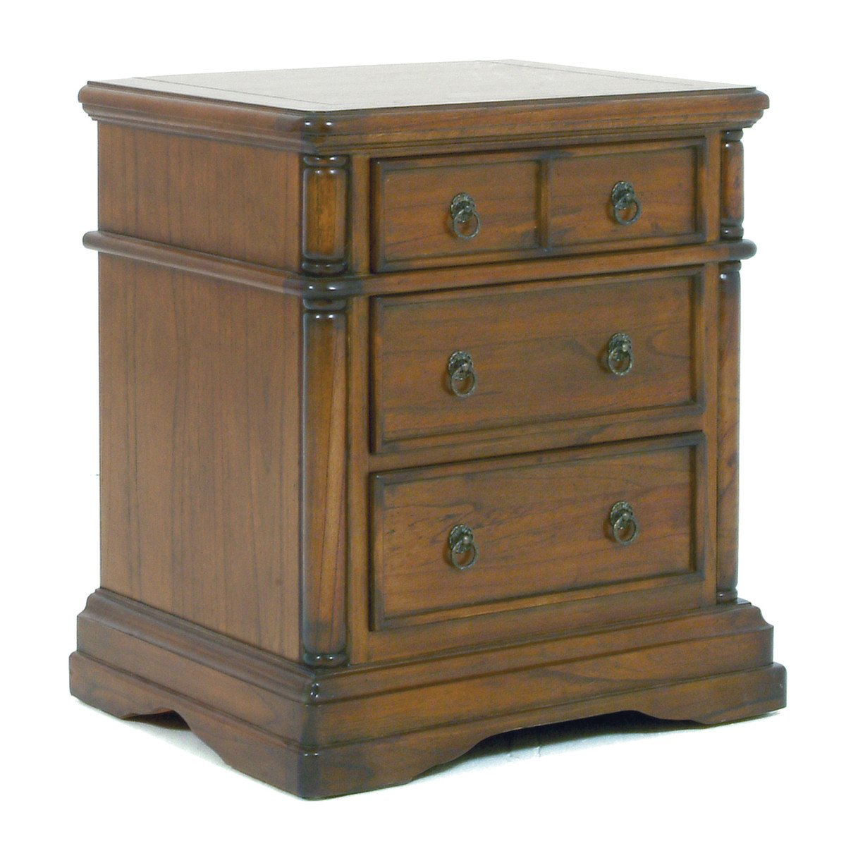 Toscana 3 Drawer Nightstand