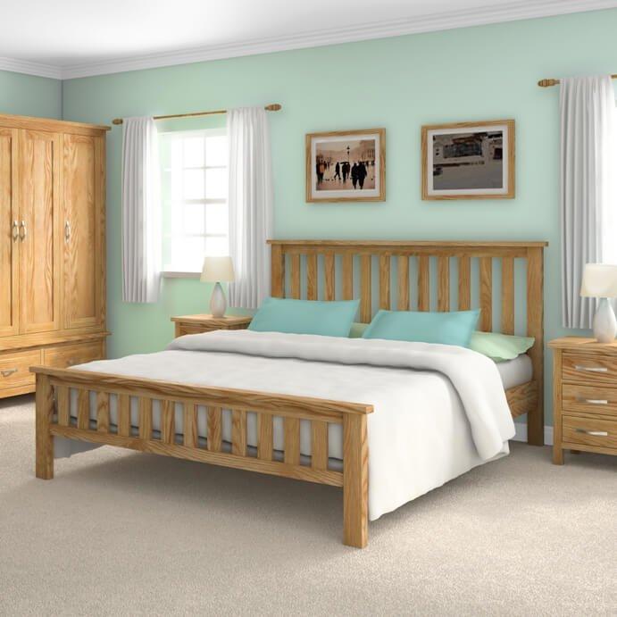 """Trinity 4'6"""" Bed Set"""