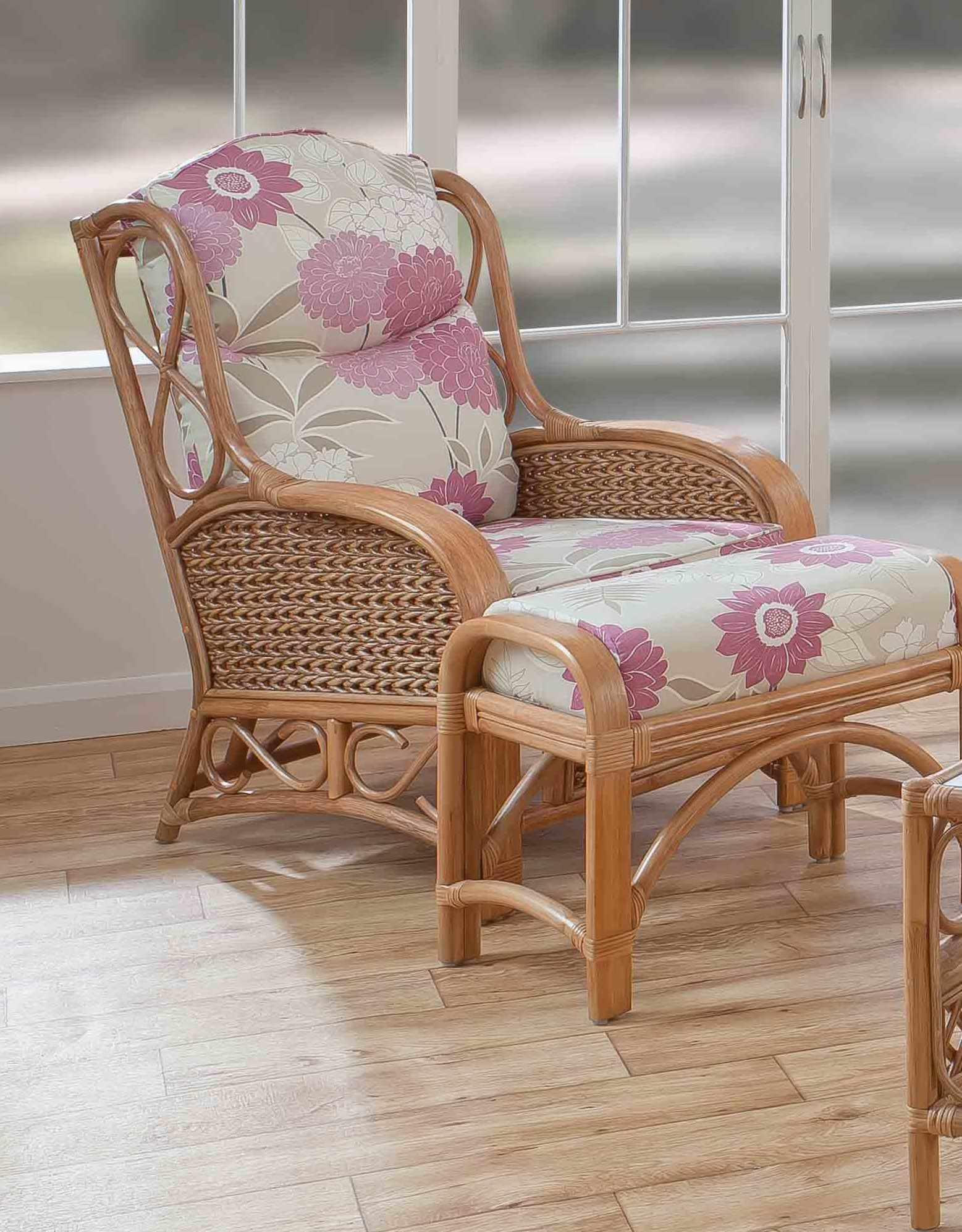 Upton Cane Armchair Natural