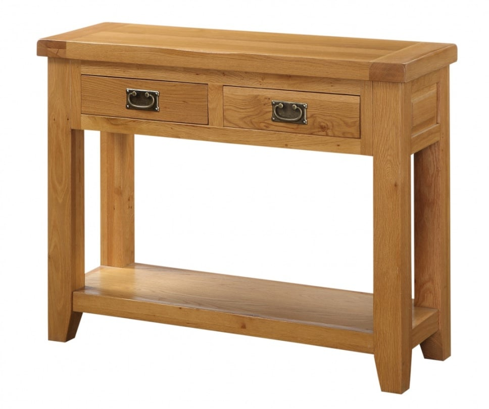Acorn Hall Table with 2 Drawers