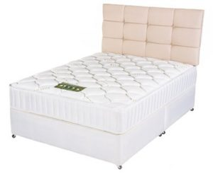 "Platinum Latex 4'6"" Mattress"