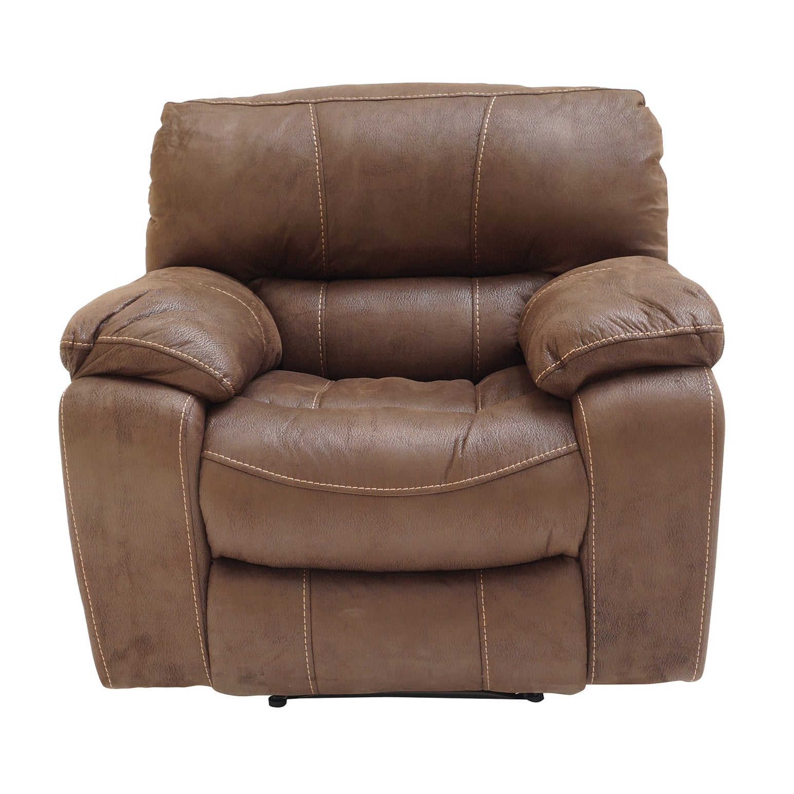 Colorado Reclining Armchair Brown