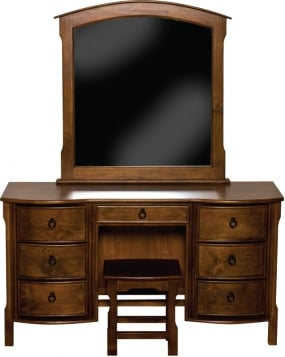 Seville Dressing Table, Mirror and Stool