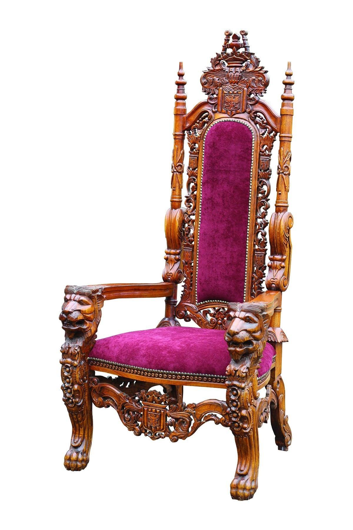 Mahogany Medium Kings Chair