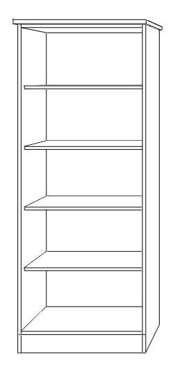 BlackwaterTall Bookcase