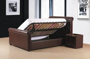 Caxton Storage Bed Open