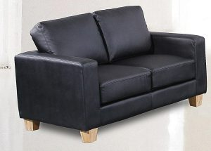 Chesterfield black 2 Seater