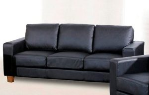 Chesterfield black 3 seater