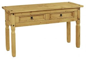 Corona Console Table wih 2 drawers