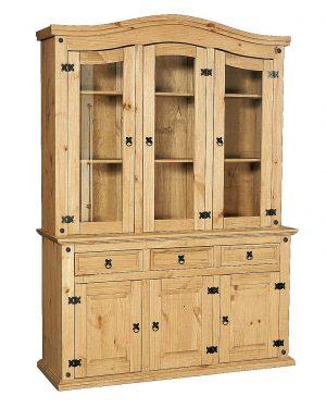 Corona 3 Door Dresser