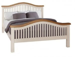 "Juliet 4'6"" Curved Bed"