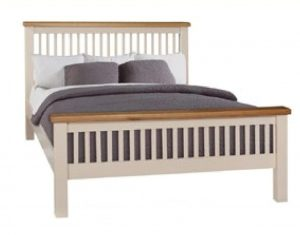 "Juliet 4'6"" Slatted Bed"