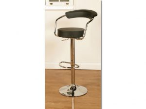 SATURN STOOL BLACK 1