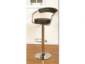 SATURN STOOL BROWN 1