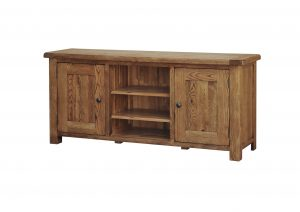 SRDE35 LARGE TV UNIT WITH WOOD DOORS 01