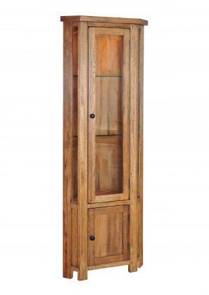 Salford Corner Display Cabinet