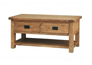 Salford Coffee Table with Drawers