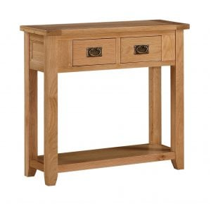 Stirling Console Table 2 Drawers