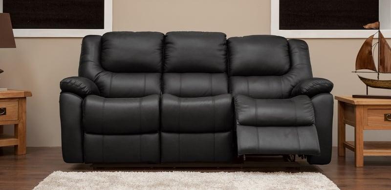 Harvey 3 Seater Reclining Sofa