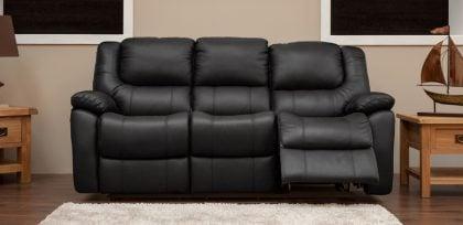3 Seater Black 9