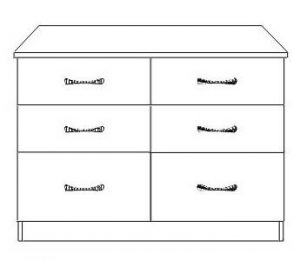 Nile 6 Drawer Chest