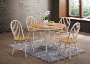 Cannes Dining Set - Cream