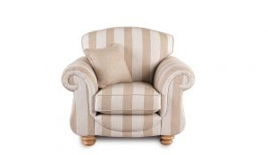 Granada Chair Beige Stripe