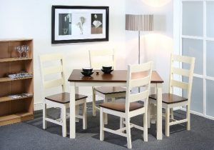 Turin 4' Dining Set