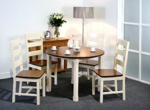 Turin Round Dining Set