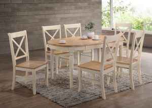 Versailles Dining Set - Cream