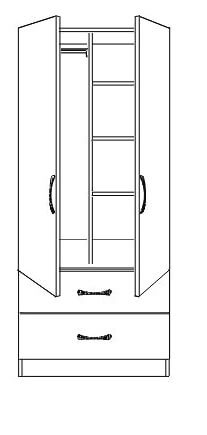 double combi drawers 4