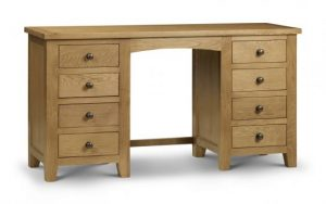 marlborough twin pedestal dressing table only