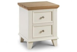 Portland 2 Drawer Bedside