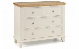 Portland 4 Drawer Wide Chest
