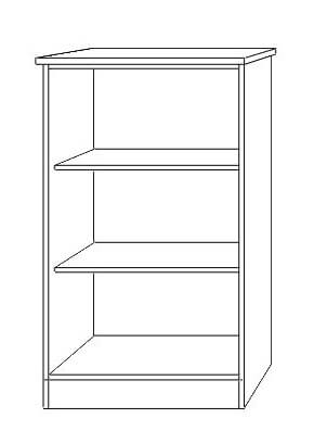 Nile Low Bookcase