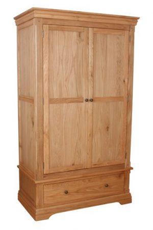 Sussex 2 Door 1 Drawer Robe