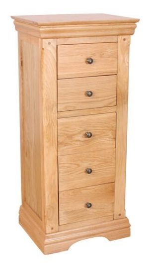 Sussex 5 Drawer Tall Boy