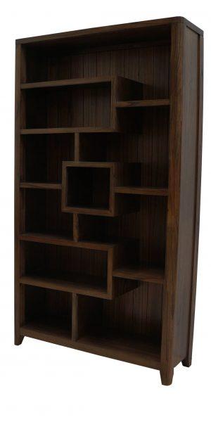 Catalina Walnut Bookcase