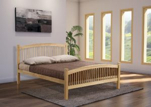 Carla beech double bed 14