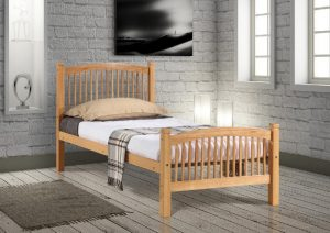 Carla single bed Beech 2