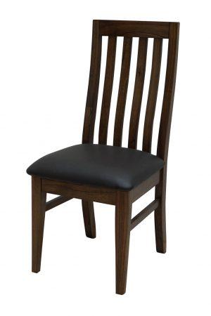 Catalina Walnut Cushion Seat Chair