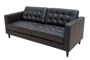 Ella 3 Seater Steel