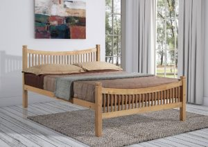 Jordan bed double Beech 4