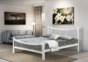 Jordan 4' Bed - White