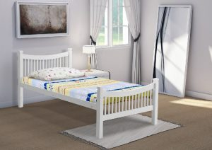 Jordan white single bed 2
