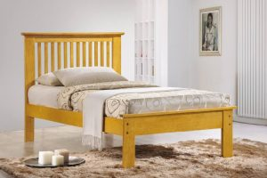 Roma Single Bed - Oak
