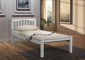 Sandra single bed white 2