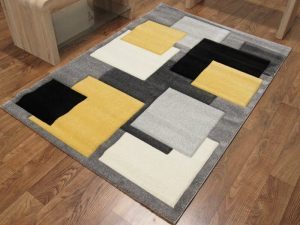 Squares - Black/Yellow